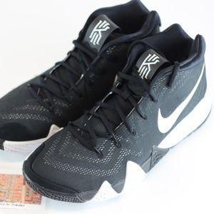 NEW Nike Kyrie 4 TB Oreo Basketball Shoes AV2296